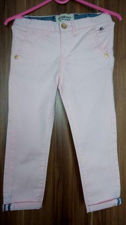 Różowe spodnie firmy KappAhl rozm. 104