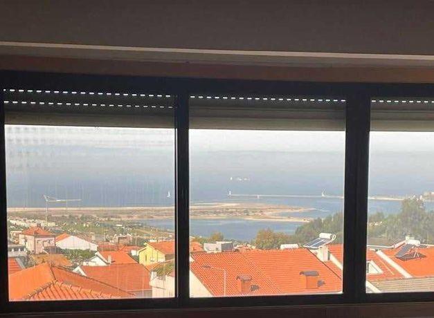 Apartamento T3 com 3 Frentes, Vistas de Mar