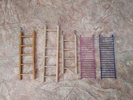 Продам пять лестниц для попугаев