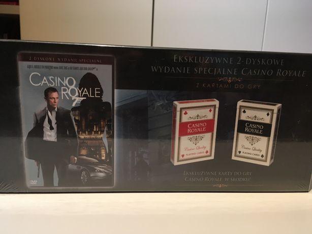 James Bond Casino royale (2 DVD + 2 talie kart ) wydanie limitowane