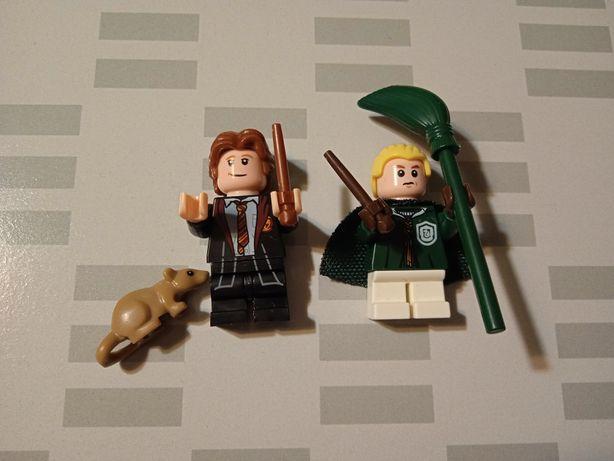 Figurki z filmu Harry Potter. Ron i Malfoy i Parszywek