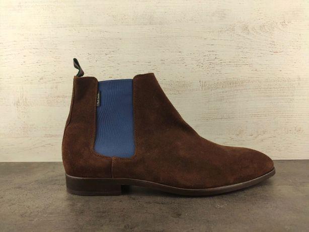 Ботинки Paul Smith Gerald. Замша. Оригинал. Размер 45