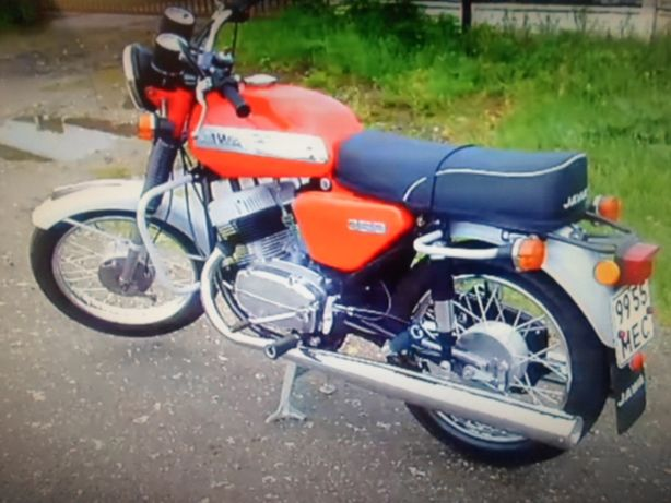Мотоцикл Ява-350-634