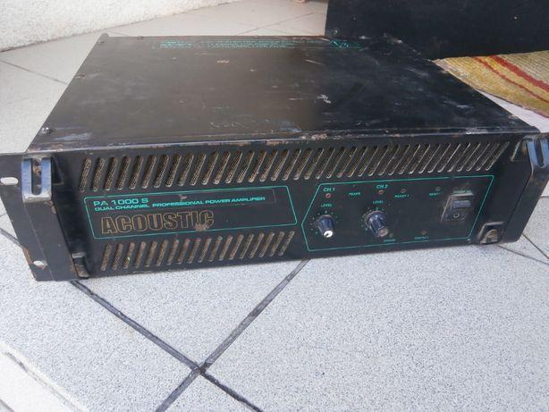 Підсилювач усилитель Acoustic pa-1000.2х500.4ом.