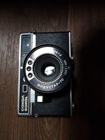 Фотоаппарат Сокол 2 с объективом Индустар 70