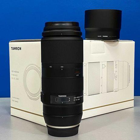 Tamron 100-400mm f/4.5-6.3 Di VC USD (Canon) - 5 ANOS DE GARANTIA