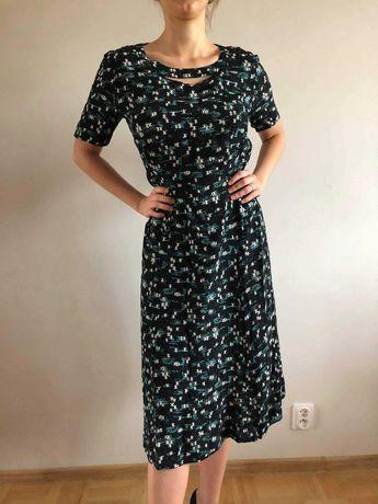 sukienka, lata40, lata50, amerykańska, vintage