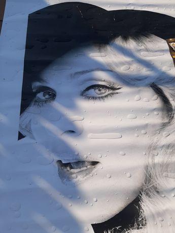 Madonna banner baner plakat poster