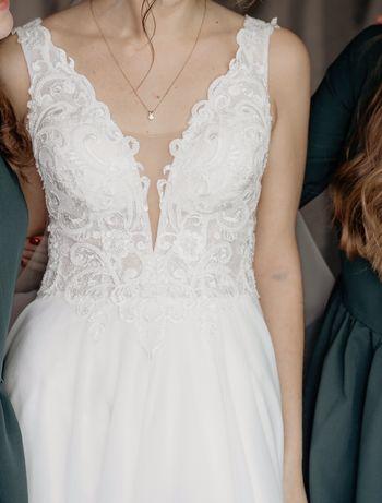 ТЕРМІНОВО! Весільна сукня втричі  дешевша, НЕ ВІНЧАНА
