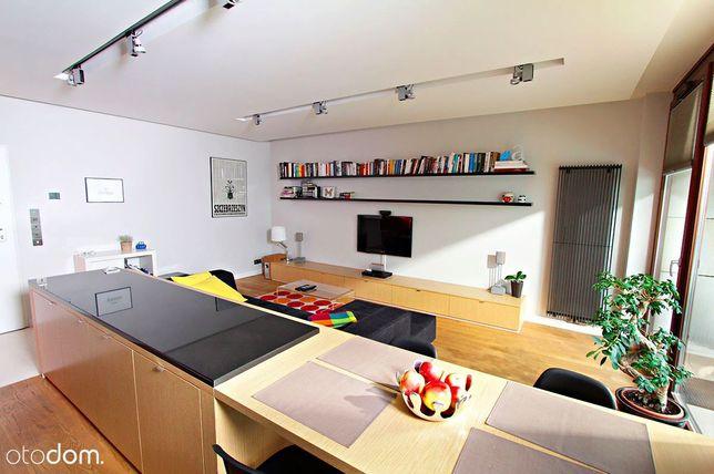 Apartament w budynku Meridian, Chłodna, 57m