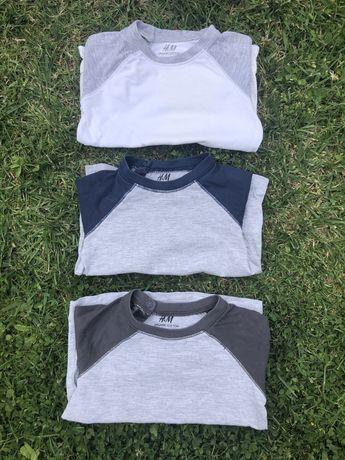 Koszulki hm rozm 80