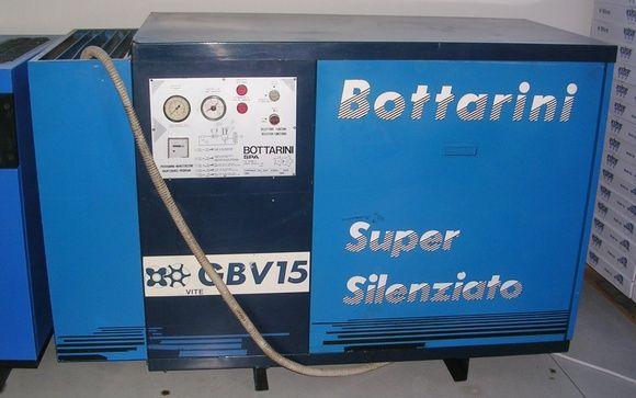 Compressor de Parafuso - Bottarini 15 e 30 Cv