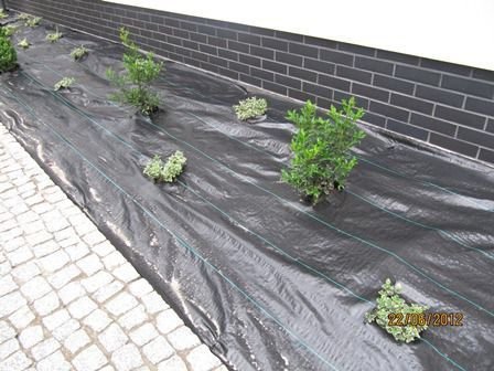 POLSKA MOCNA CZARNA AGROWLOKNINA wloknina UV na chwasty do ogródu grys