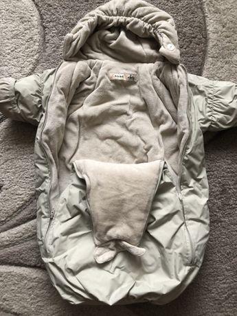 Комбинезон- конверт зимний Lenne 62 см