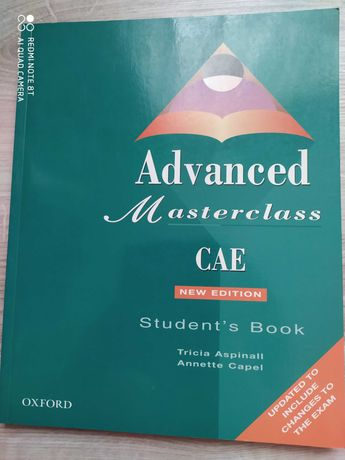 Advanced Masterclass CAE