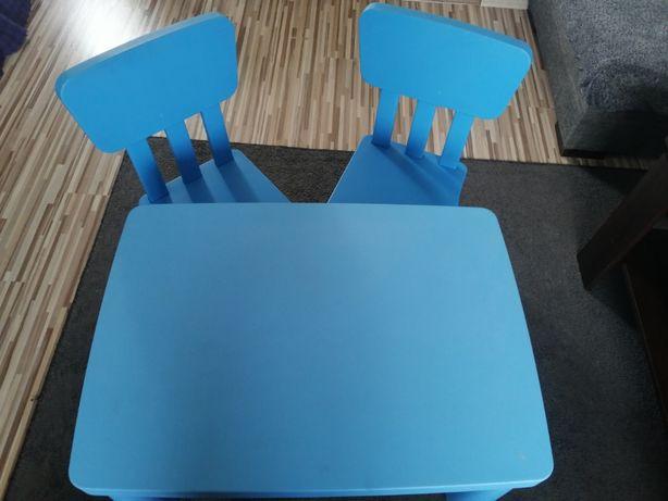 Stolik i krzesełka