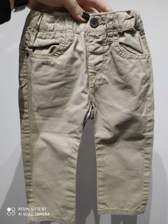 Spodnie chłopięce wiosna, lato Zara, idealne