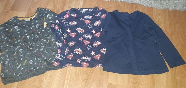 Bluzeczki Zara, hm superman 92