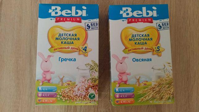 Детская молочная каша Bebi premium