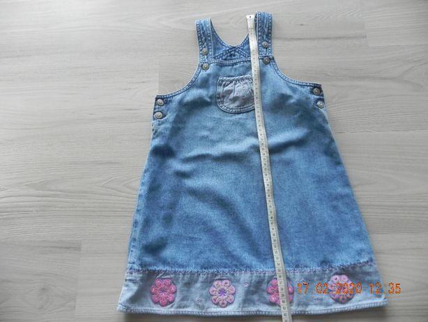 sukienka dżinsowa 104
