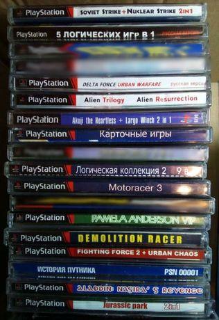 Игры для Sony playstation 1