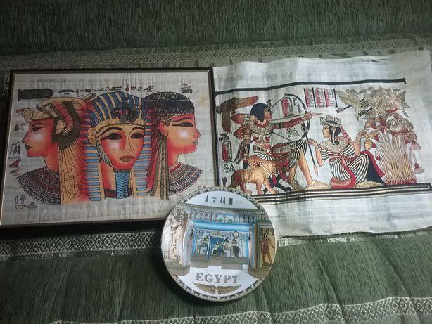 Египет папирус 43×31  тарелка