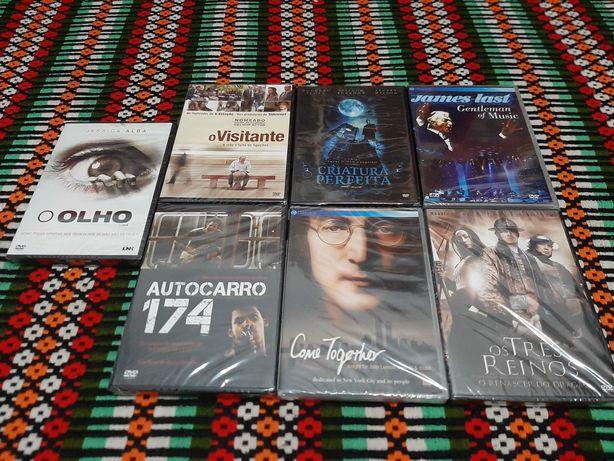 Vendo 7 CDs DVD novos selados