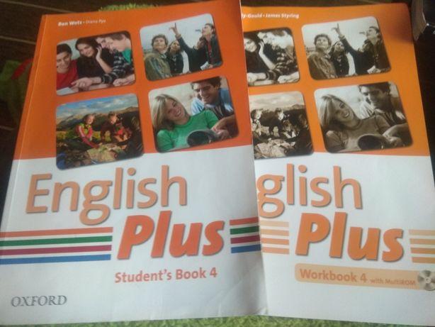 English Plus -4 book+ workbook+CD