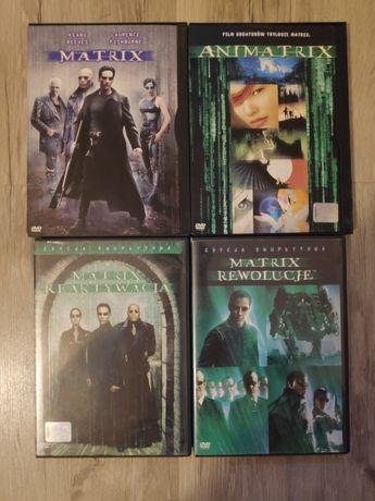 Matrix trylogia plus Animatrix DVD