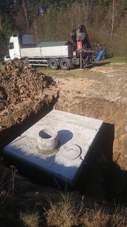 Szamba betonowe szambo zbiorniki piwniczki Rybnik Skawina Kielce Tychy