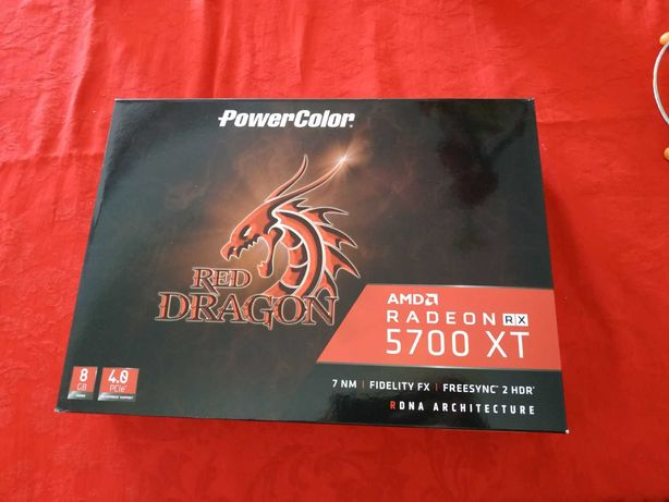 Powercolor RX 5700 XT 8Gb como nova c/ garantia [RESERVADA]