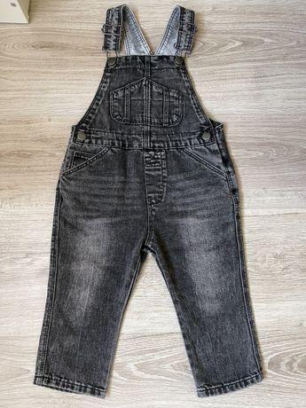 Джинсовий комбінезон zara джинси