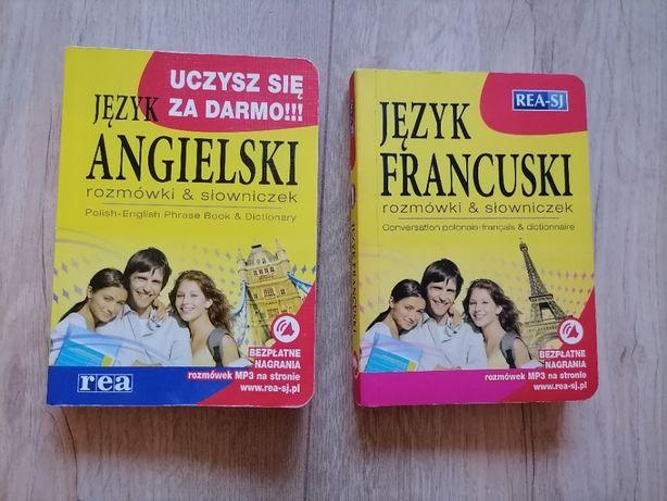 Rozmówki&słowniczek j.angielski, j.francuski