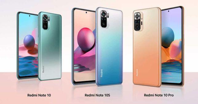 Xiaomi Redmi Note 10/10S/10 Pro/10 5G 64/128GB Все цвета Global Vers!