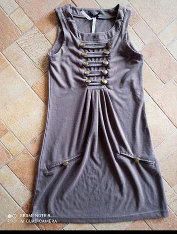 Sukienka militarna Gothic 36-38