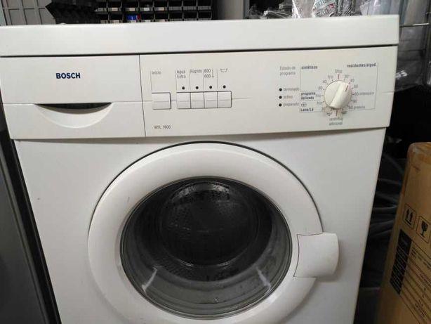 Maquina lavar roupa Bosch a funcionar com todos os programas e funções