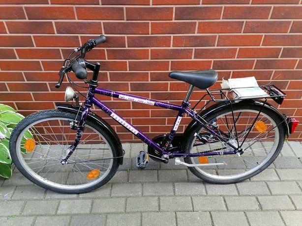 nowy dziecięcy rower Brennabor koła 24 cale