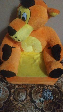 Fotel dla dzieci tygrysek