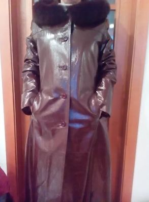 Дубленка женская(кожа.куртка)