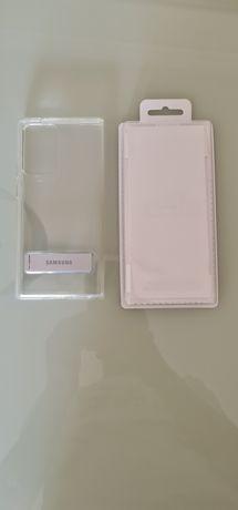 Capa Original Clear Standing Cover Samsung para Note 20 Ultra