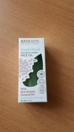RATA&CO serum z olejem lnianym do twarzy ciała i włsów nowe kosmetyk n