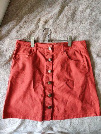Красная юбка (размер 28)