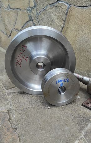 Шкив 2-рядный 100 мм