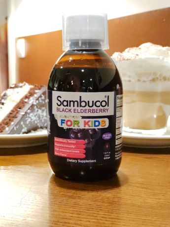 Сироп для детей, Sambucol, Черная бузина