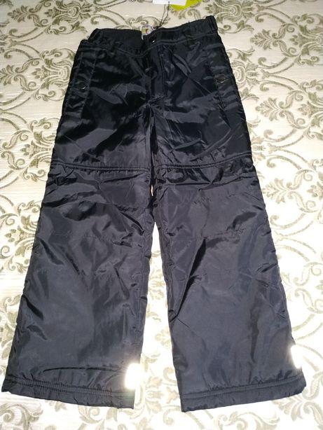 Новые зимние теплые штаны на р.116