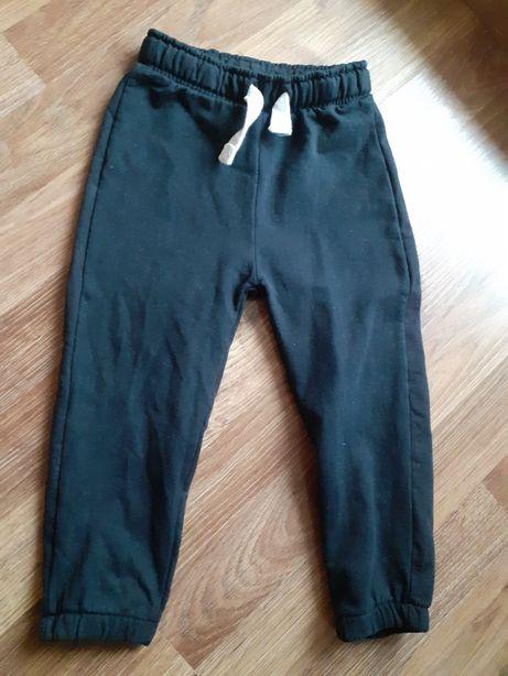 Spodnie dresowe rozm 92 z 5 10 15 bawełna