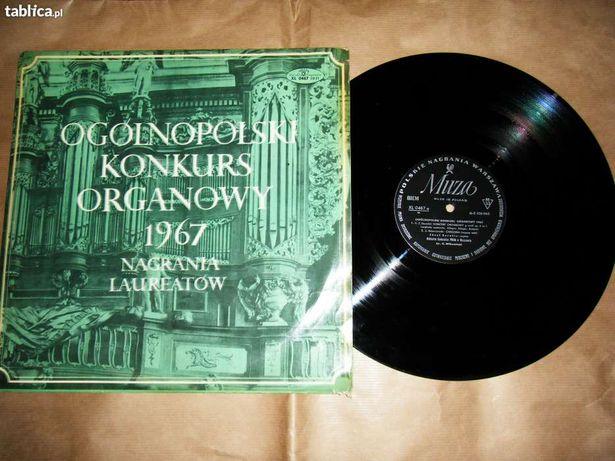 Płyta winylowa - Ogólnopolski Konkurs Organowy 1967