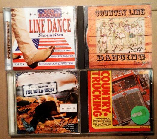 Zestaw 4 CD country western truck dance