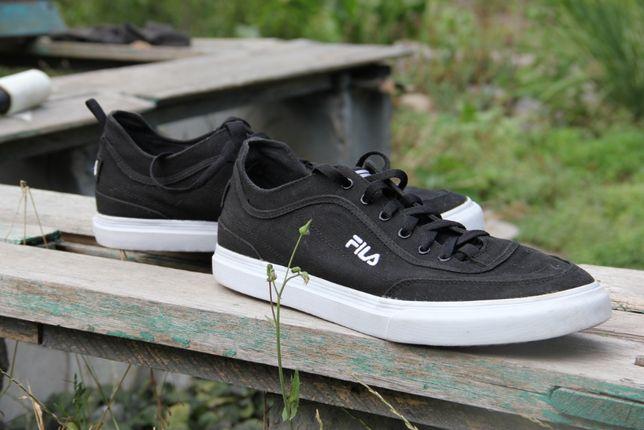 Кроссовки, кеды Fila Men's Canvas Shoes - Black Memory Foam 46 размер