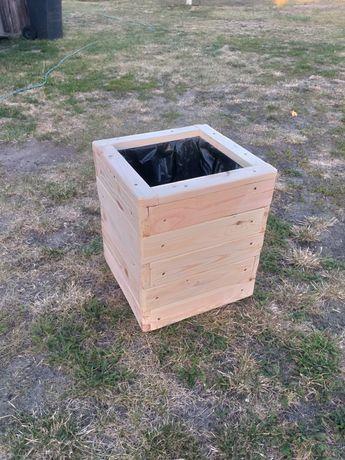 Doniczka donica drewniana ogrodowa 60x30x30